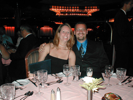 Jason and  Jennifer on formal night